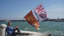 Los polémicos cruceros gigantes mueven más 400 millones de euros en Venecia