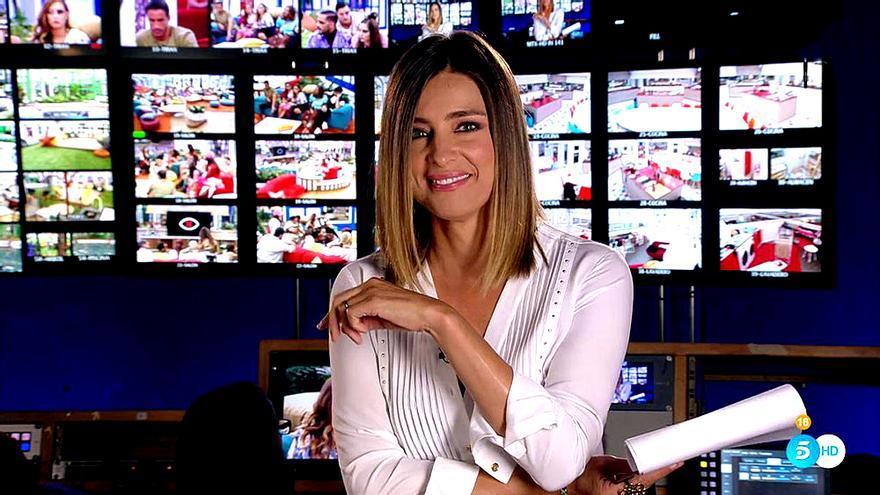 Sandra Barneda presenta la última hora de GH: Revolution (Telecinco)