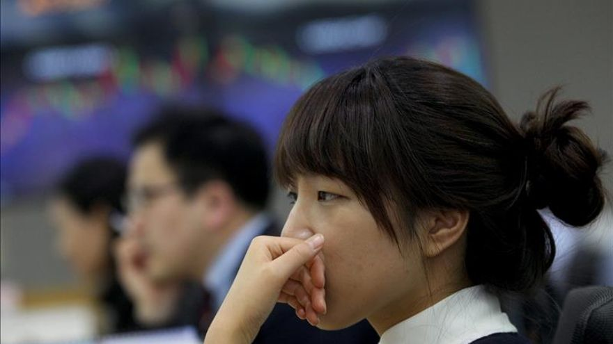 El Kospi surcoreano sube un 0,03 por ciento hasta los 2.107,17 puntos