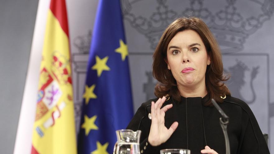 """La vicepresidenta tendrá un protagonismo especial en esta campaña para llegar """"donde no llegue"""" Rajoy"""