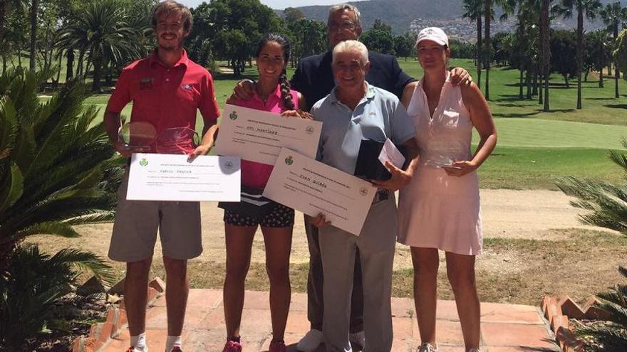 Altísimo nivel de juego de nuestros profesionales andaluces en Guadalhorce