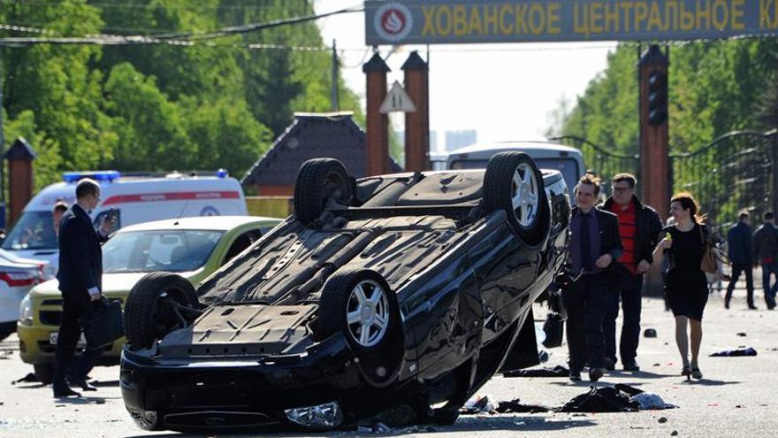 Al menos tres muertos y 23 heridos en una pelea masiva junto a un cementerio moscovita