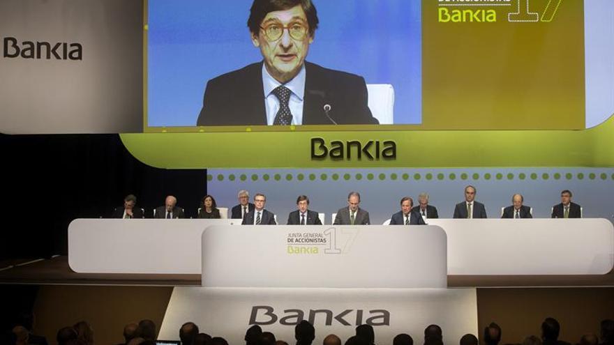 Goirigolzarri, reelegido presidente de Bankia por el 99,5 % de los accionistas
