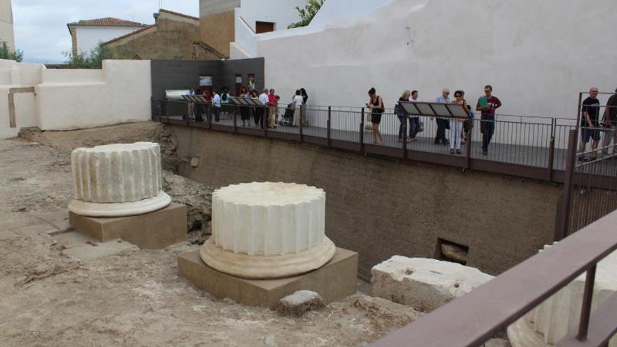 Mérida enriquece su patrimonio romano con el Templo de Culto Imperial