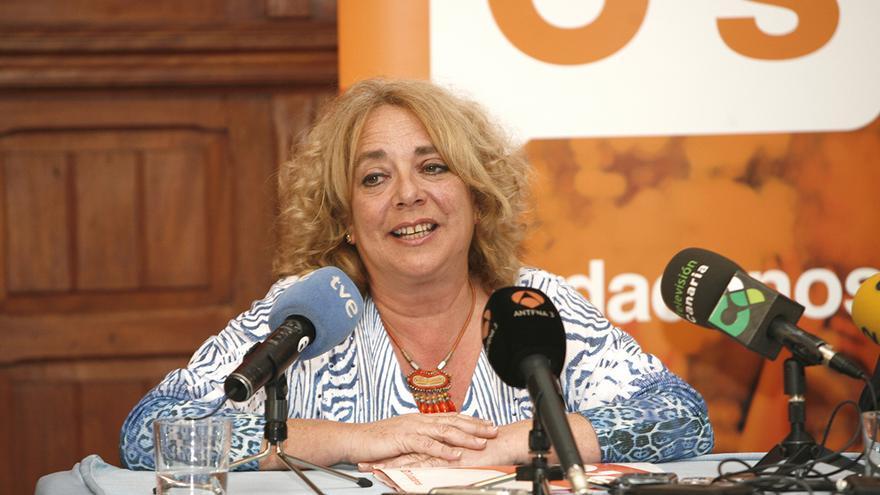 La candidata al Ayuntamiento de Las Palmas de Gran Canaria por Ciudadanos, Beatriz Correas