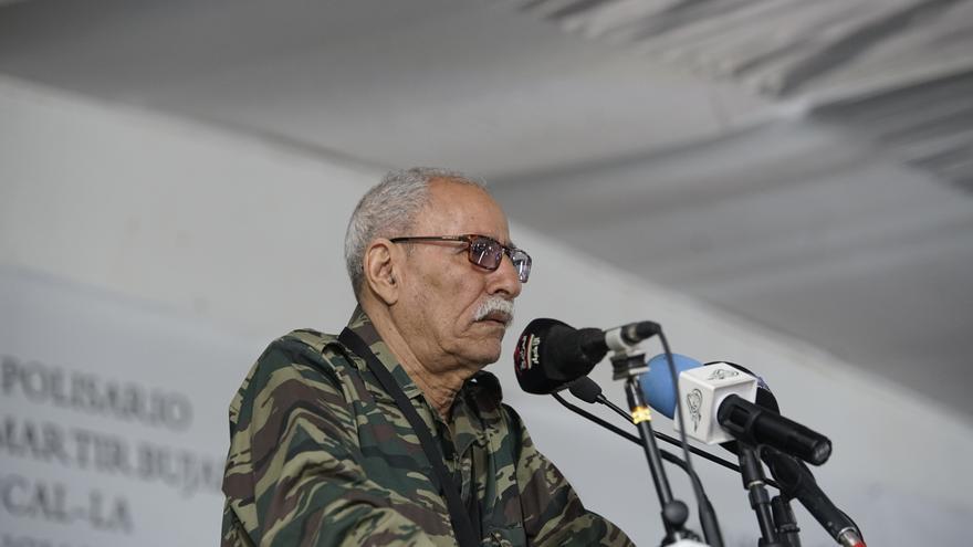 Brahim Gali, presidente de la RASD y secretario general del Frente Polisario, en 2019.