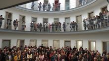 Familias de asesinados por los franquistas hacen memoria en la cárcel de Lugo donde estuvieron presos