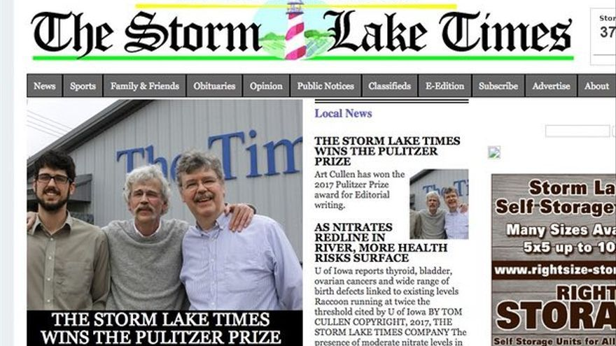 The Storm Lake Times