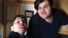 Lorena y su hijo Ezequiel.