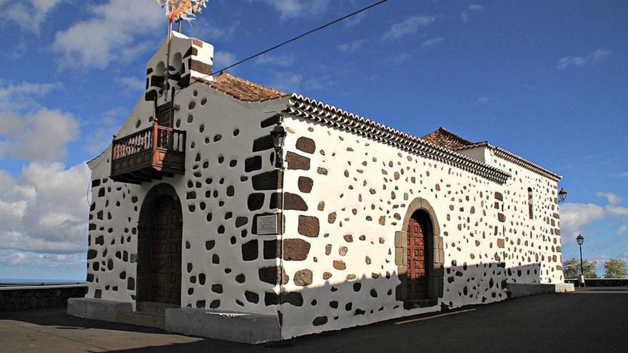 Imagen de archivo de la Ermita de San Bartolomé, en el barrio de La Galga del municipio de Puntallana. Foto: palmerosenelmundo.com¡é