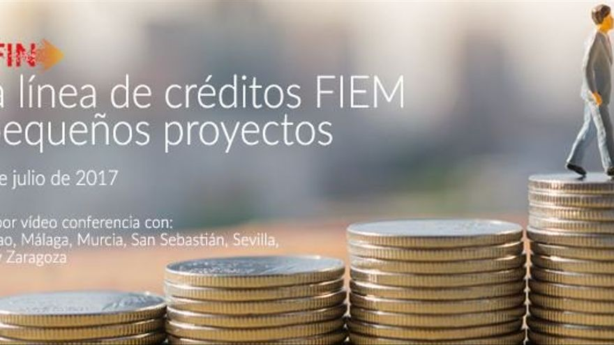 Nueva línea FIEM para financiación de pequeños proyectos