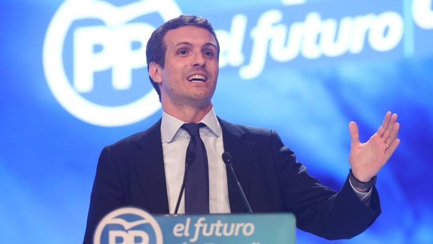 Casado se estrena este jueves presidiendo el Comité Ejecutivo del PP en Barcelona