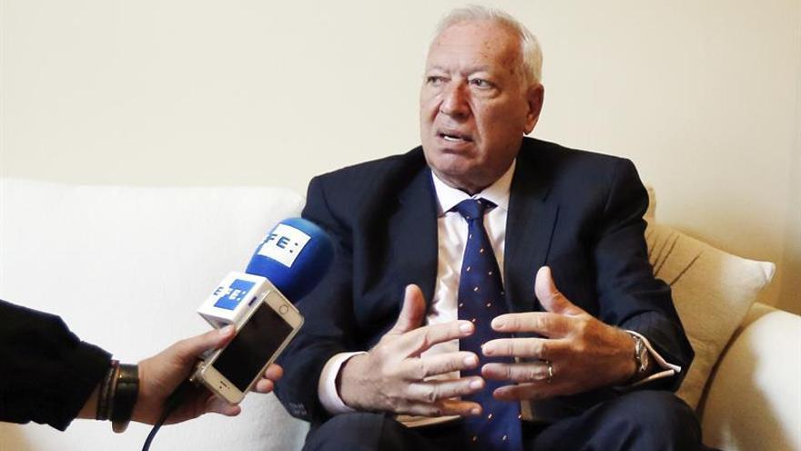 Margallo matiza que las críticas sobre la austeridad se referían a la UE