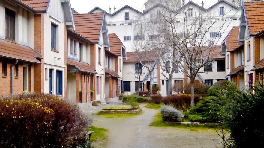 Colonia obrera de la Pequeña Alsacia, recuerdo de la revolución industrial en París.