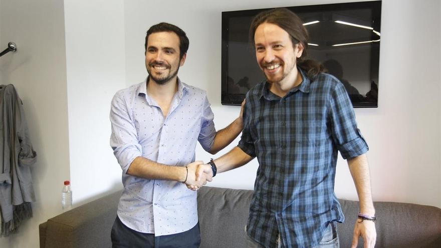 IU se queda con tres cabezas de lista en su pacto con Podemos: Ciudad Real, Palencia y Teruel