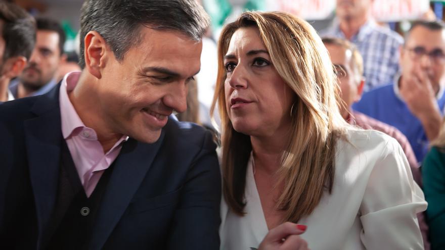 Pedro Sánchez y Susana Díaz intervienen el sábado en Sevilla en la  presentación de Espadas como candidato a la Alcaldía