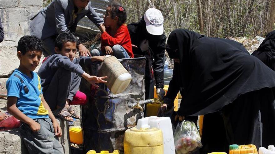 La ONU alerta que casi la mitad de la población yemení está en riesgo de hambruna