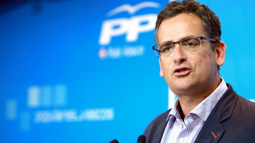 Basagoiti dice que sólo el PP puede frenar la influencia de Bildu