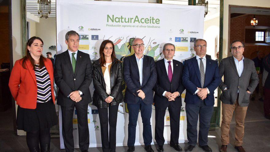 NaturAceite se ha celebrado en la finca Los Lavaderos de Rojas de Toledo con presencia de autoridades y representantes del sector