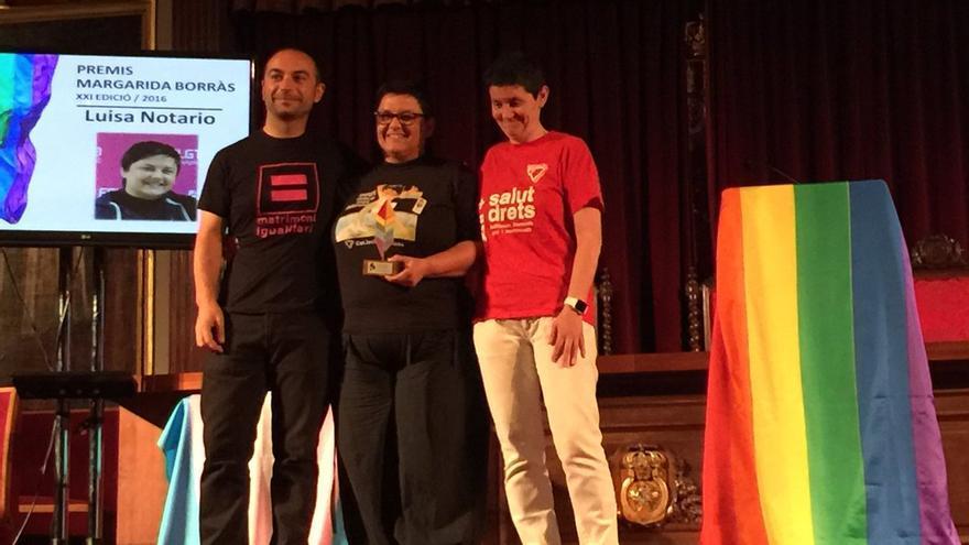 José de Lamo, director de la Agencia de Igualdad en la Diversidad, durante los premios Margarida Borrás