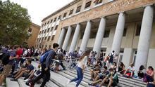 Alumnos en la Universidad Complutense de Madrid