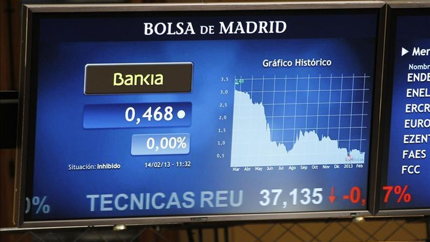 Las nuevas acciones de Bankia por el canje de preferentes comienzan a cotizar