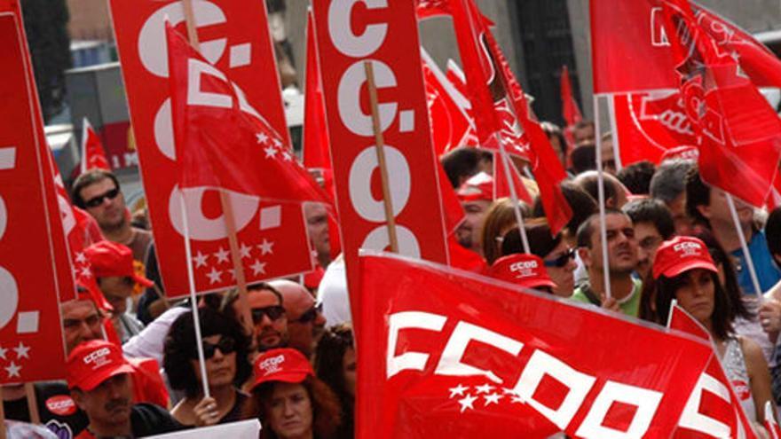 Resultat d'imatges de huelga ccoo