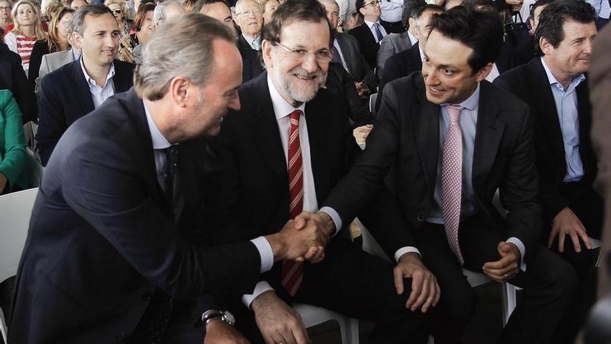 Alberto Fabra y Mariano Rajoy en Valencia / @AlbertoFabra