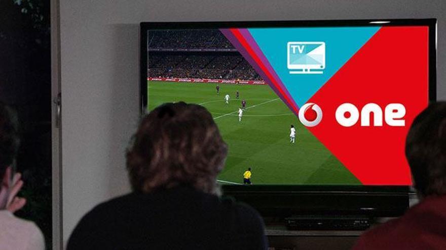 Vodafone anuncia sus ofertas de 6 euros al mes para ver el fútbol