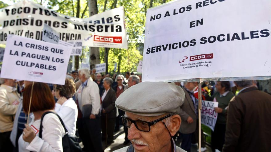 Encierro En Una Oficina De La Seguridad Social En Protesta