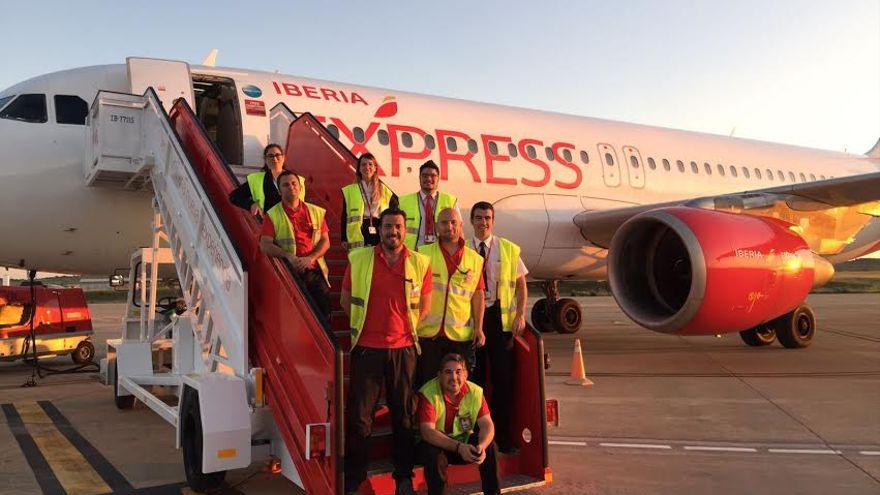 Iberia empleados aeropuerto Badajoz