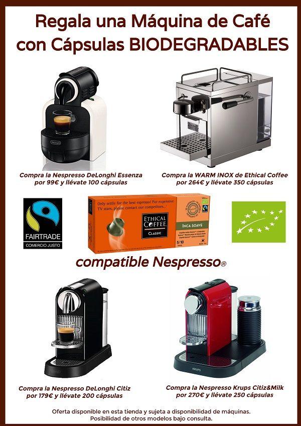Oferta Máquinas cafe
