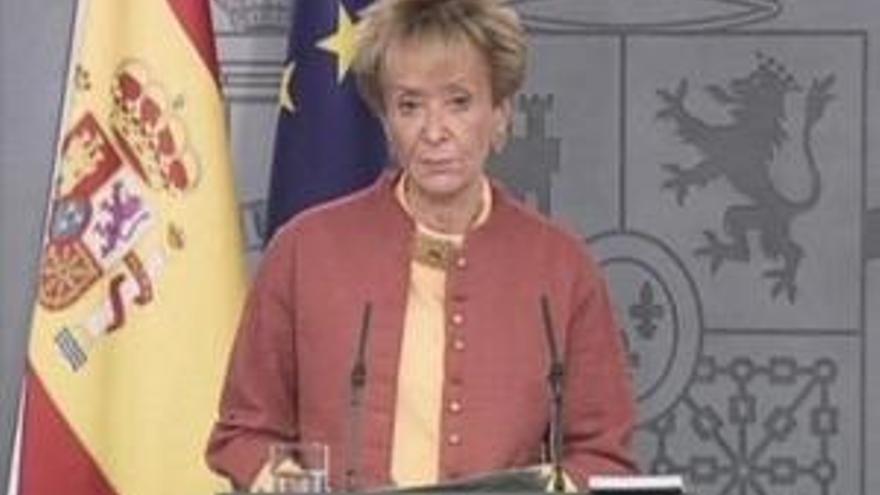 María Teresa Fernández de la Vega. (EP)