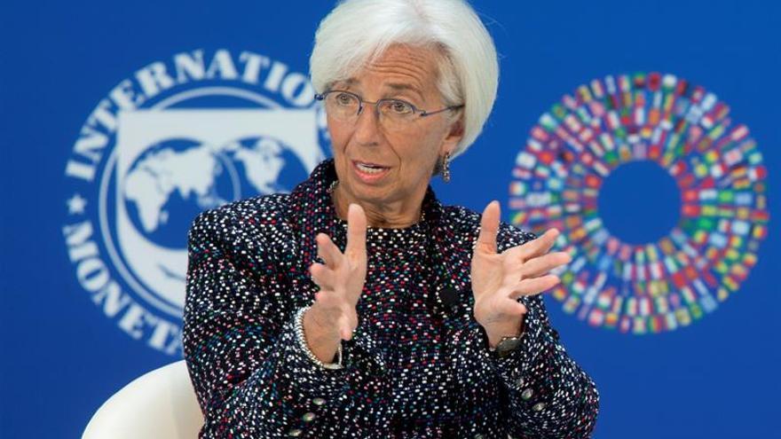 """Lagarde dice a EE.UU. que para mejorar el comercio global debe hacerse """"en cooperación"""""""