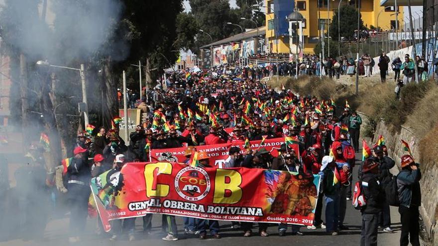 Central Obrera Boliviana convoca a huelga de 72 horas en rechazo a despidos
