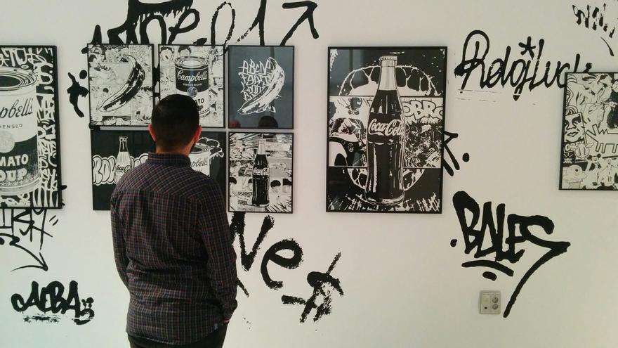 Una de las ilustraciones de la exposición