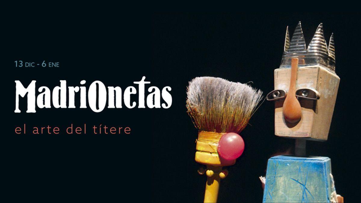 Cartel de Madrionetas | TEATRO FERNÁN GÓMEZ. CENTRO CULTURAL DE LA VILLA