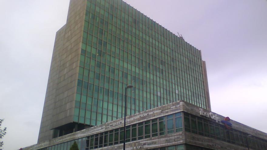 Central de Ibercaja en Zaragoza.