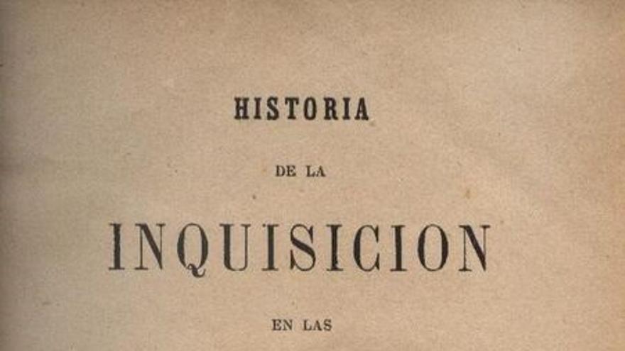 Historia de la Inquisición en Canarias