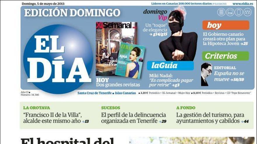 Las portadas del día (5-05-2012) #7