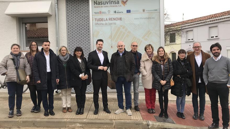 El Gobierno de Navarra abre una oficina técnica de atención ciudadana en el barrio de Lourdes de Tudela