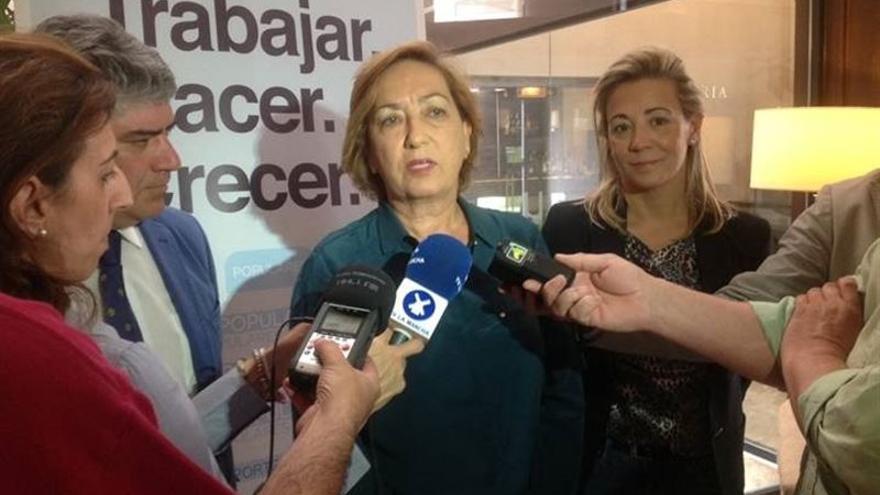 La consejera de Agricultura, María Luisa Soriano / Foto: PP