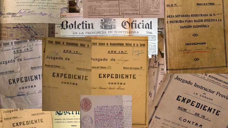Prada revisó los expedientes conservados en archivos, además de boletines oficiales y prensa de la época