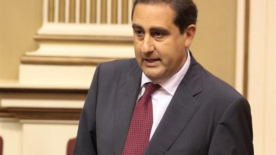 El diputado del Partido Popular en el Parlamento de Canarias, Felipe Afonso El Jaber.
