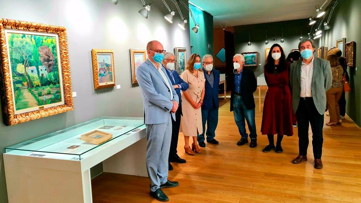 Presentación de la exposición en el Centro de Arte Contemporáneo de Madrid.