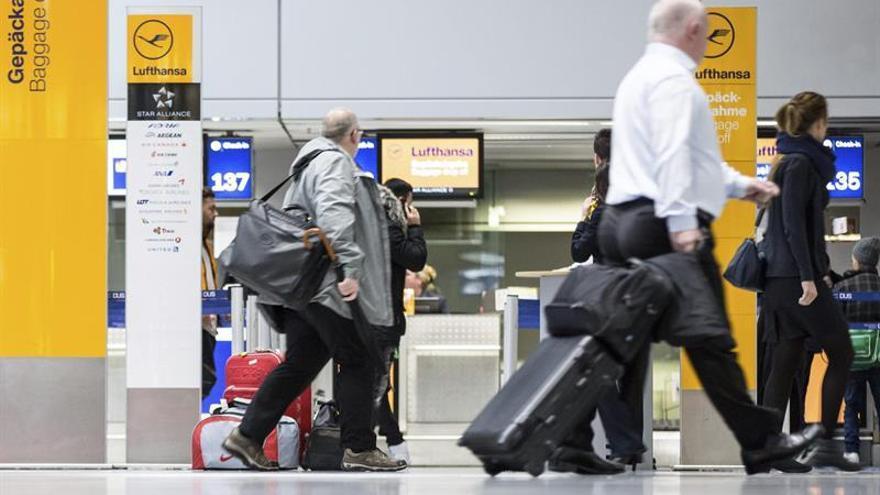La huelga de pilotos de Lufthansa entra en su tercer día con 830 cancelaciones