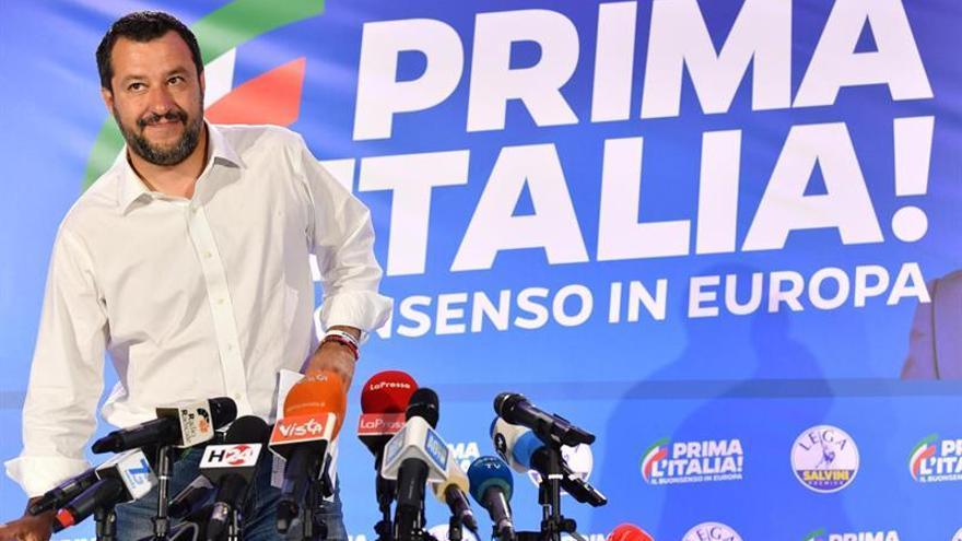 La Liga de Matteo Salvini gana en Italia con más del 34% de los votos