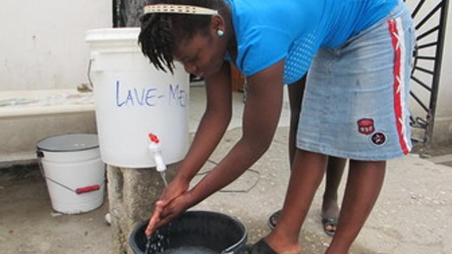 Colera en Haití