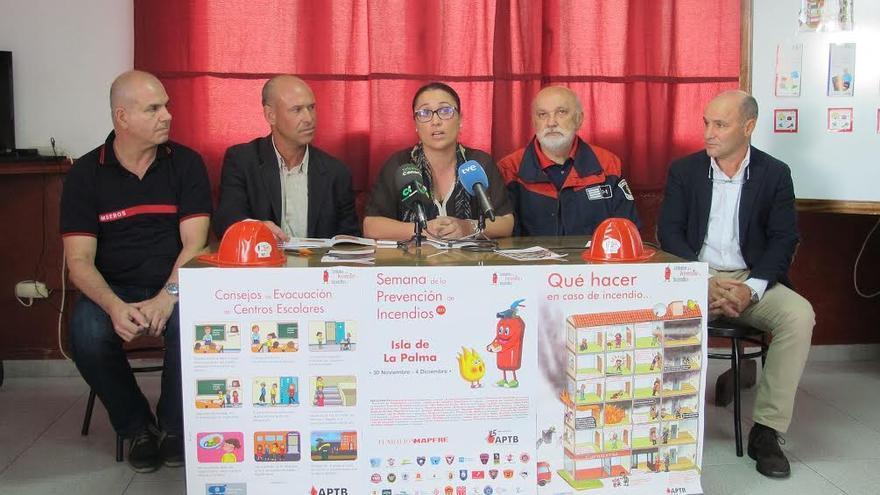 Presentación de  la 'Semana de la Prevención de Incendios' con actividades dirigidas a escolares y colectivos de mayores.