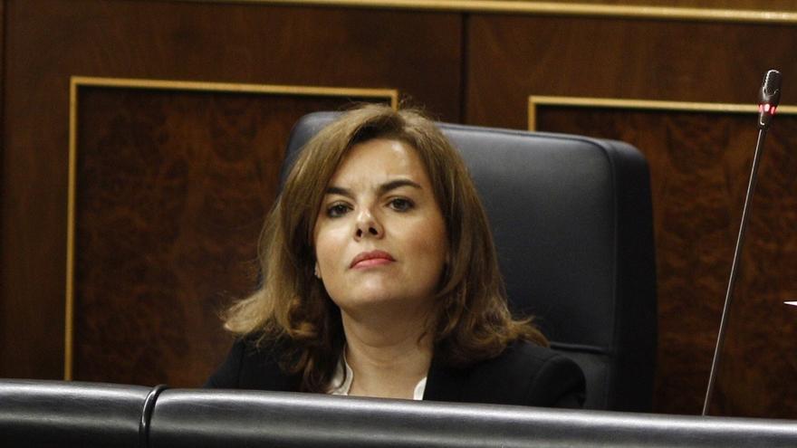 El PSOE quiere que la vicepresidenta adelante el miércoles sus planes para Cataluña en el Pleno del Congreso